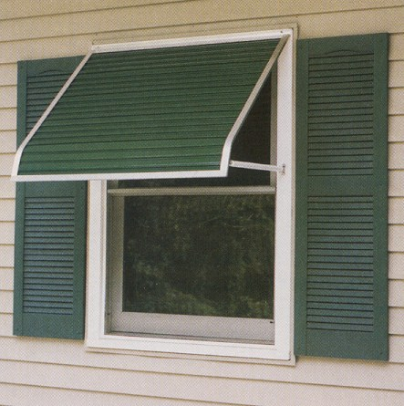 FutureGuard Aluminum Window Awning With Arms Series 3100