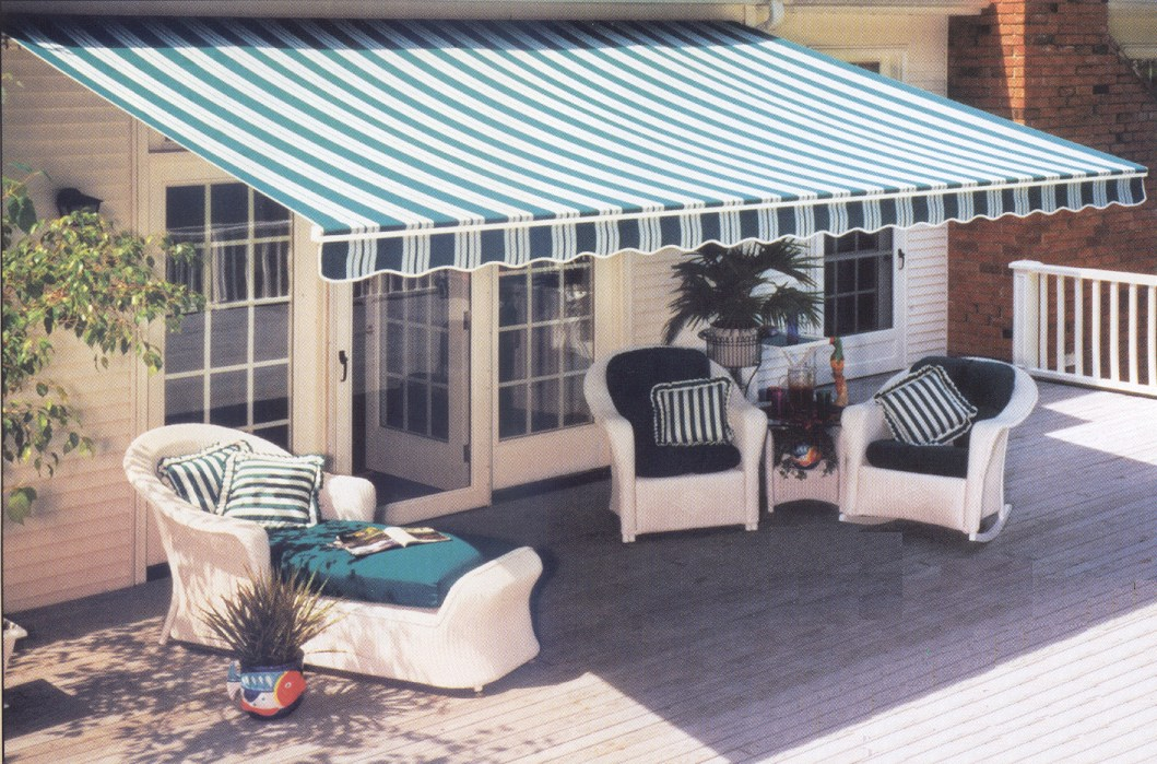 futureguard retractable patio awning custom canvas co