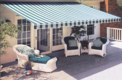 FutureGuard Retractable Patio Awning.