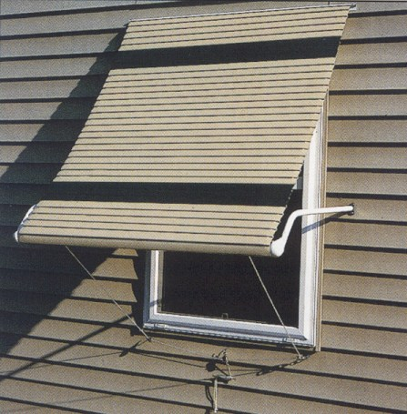 Futureguard Aluminum Window Awning Custom Canvas Co
