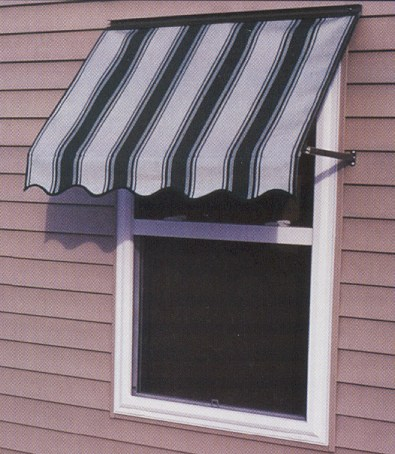 FutureGuard Fabric Window Awning With Arms