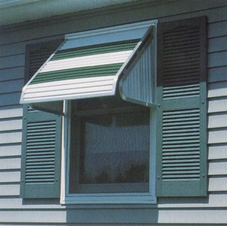 FutureGuard Aluminum Window Awning With Sides